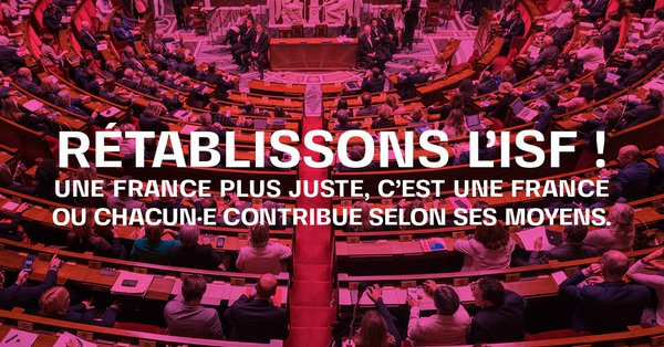 Rétablissons l'ISF !